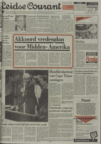 Leidse Courant 1987-08-08