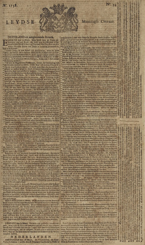Leydse Courant 1758-03-20