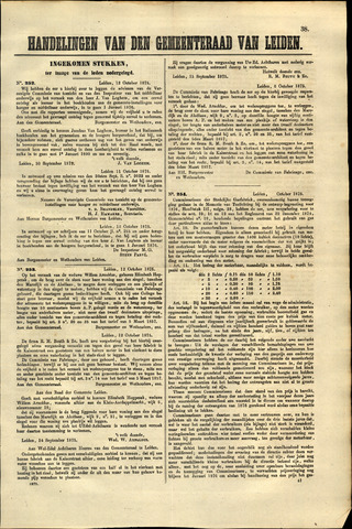 Handelingen van de Raad 1875-10-12