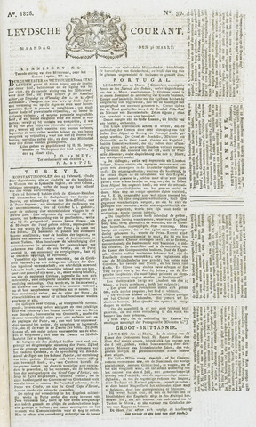 Leydse Courant 1828-03-31