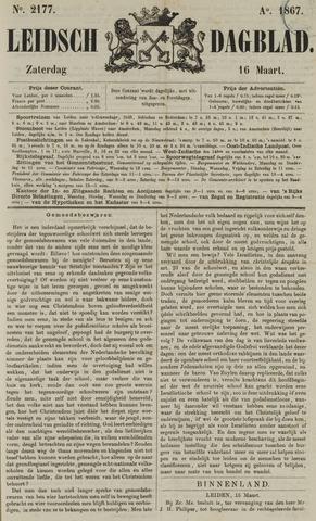 Leidsch Dagblad 1867-03-16