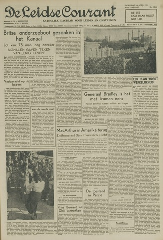 Leidse Courant 1951-04-18