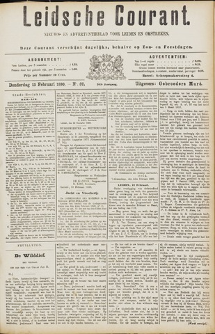 Leydse Courant 1890-02-13