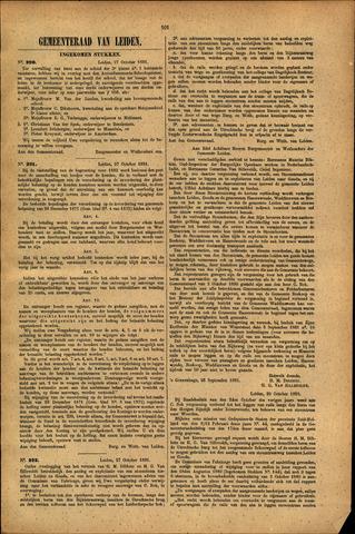 Handelingen van de Raad 1881-10-27