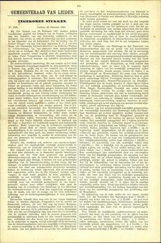 Handelingen van de Raad 1923-10-22
