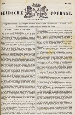 Leydse Courant 1882-10-31