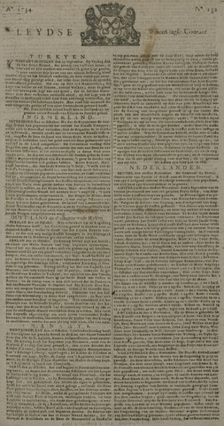 Leydse Courant 1734-11-03