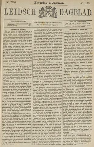 Leidsch Dagblad 1885-01-03