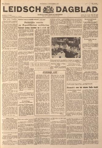 Leidsch Dagblad 1947-12-13
