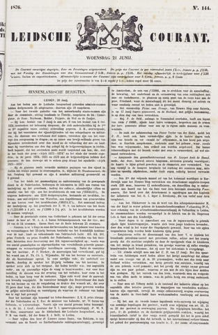Leydse Courant 1876-06-21