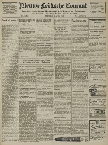 Nieuwe Leidsche Courant 1938-04-02