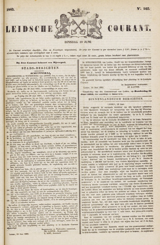 Leydse Courant 1883-06-19