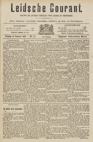 Leydse Courant 1887-01-21