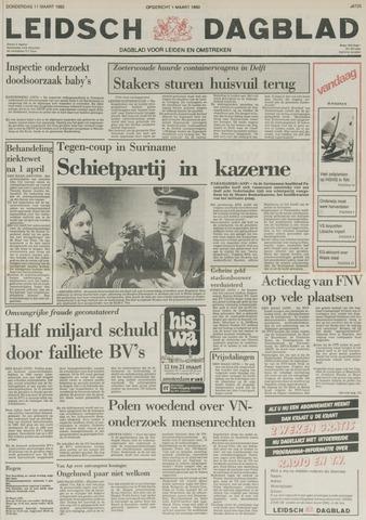 Leidsch Dagblad 1982-03-11