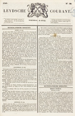 Leydse Courant 1846-07-29