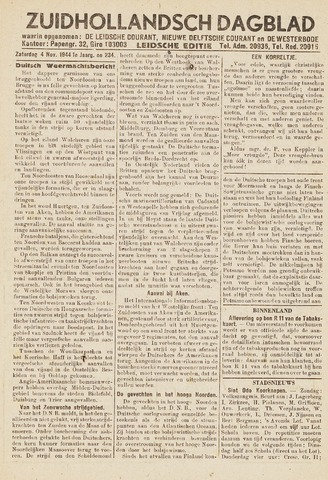 Zuidhollandsch Dagblad 1944-11-04