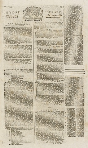 Leydse Courant 1820-08-21
