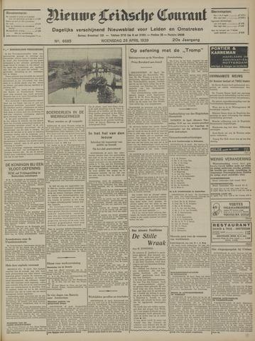 Nieuwe Leidsche Courant 1939-04-26