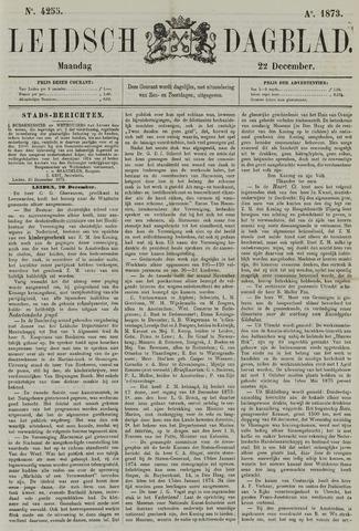 Leidsch Dagblad 1873-12-22