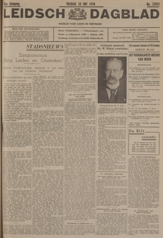 Leidsch Dagblad 1938-05-20