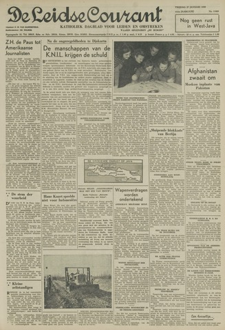 Leidse Courant 1950-01-27