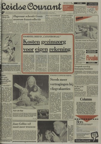 Leidse Courant 1987-07-25
