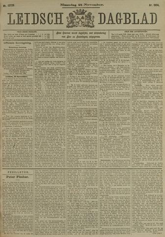 Leidsch Dagblad 1904-11-21