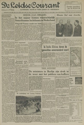 Leidse Courant 1954-02-16