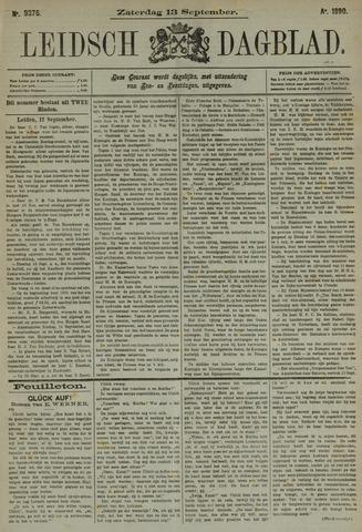 Leidsch Dagblad 1890-09-13