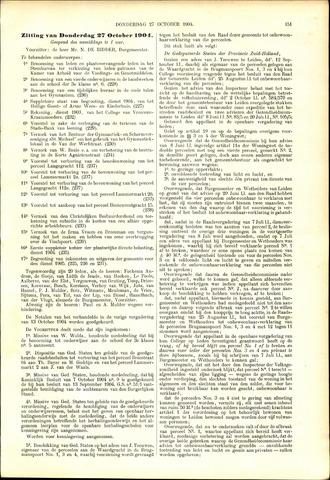 Handelingen van de Raad 1904-10-27