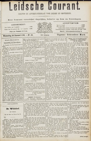 Leydse Courant 1890-01-22