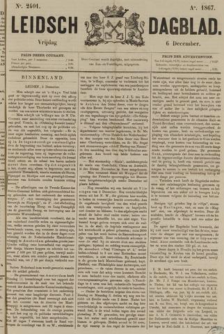 Leidsch Dagblad 1867-12-06