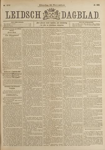 Leidsch Dagblad 1899-11-21