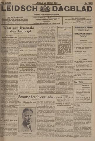 Leidsch Dagblad 1940-01-20
