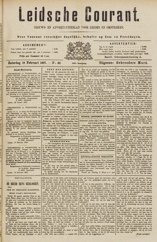 Leydse Courant 1887-02-19