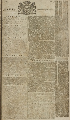 Leydse Courant 1770-03-28