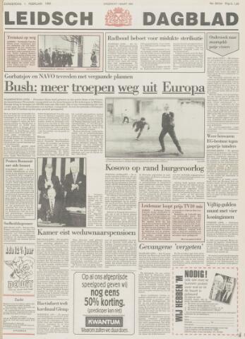 Leidsch Dagblad 1990-02-01