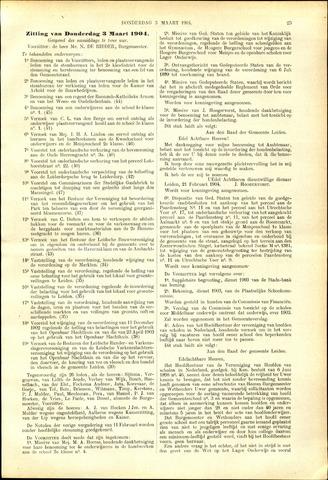 Handelingen van de Raad 1904-03-03