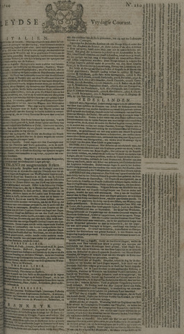 Leydse Courant 1744-09-11