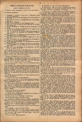 Handelingen van de Raad 1887-03-17
