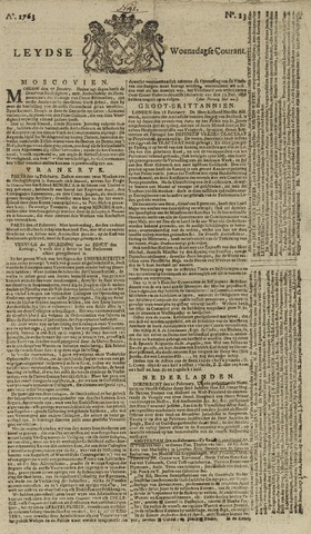 Leydse Courant 1763-02-23