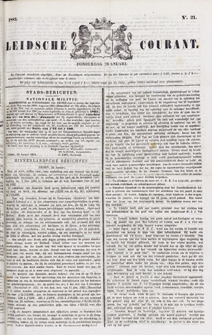 Leydse Courant 1883-01-25