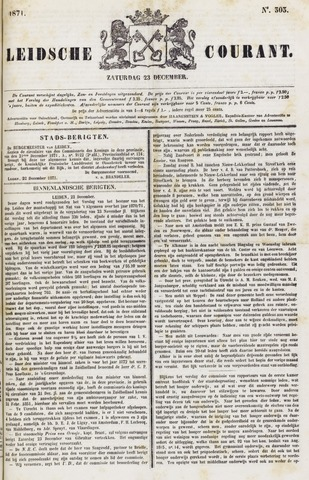 Leydse Courant 1871-12-23