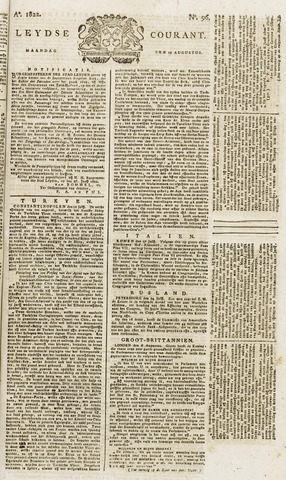 Leydse Courant 1822-08-12