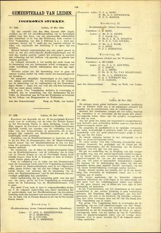 Handelingen van de Raad 1922-05-26