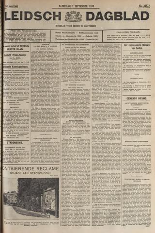 Leidsch Dagblad 1933-09-02
