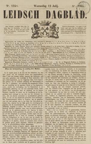 Leidsch Dagblad 1864-07-13