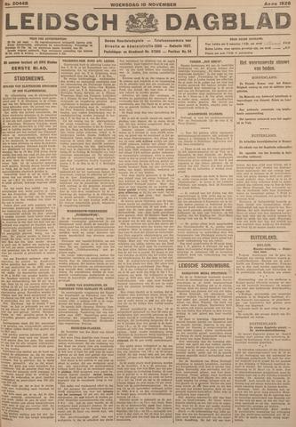 Leidsch Dagblad 1926-11-10