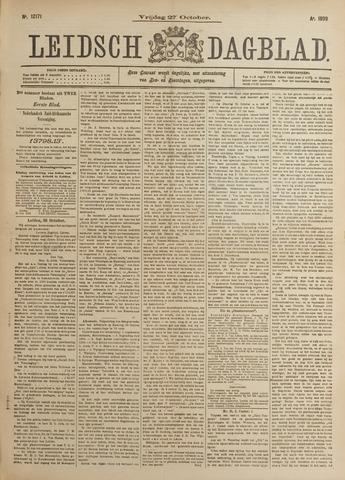 Leidsch Dagblad 1899-10-27