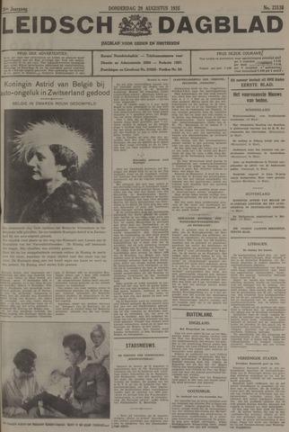 Leidsch Dagblad 1935-08-29